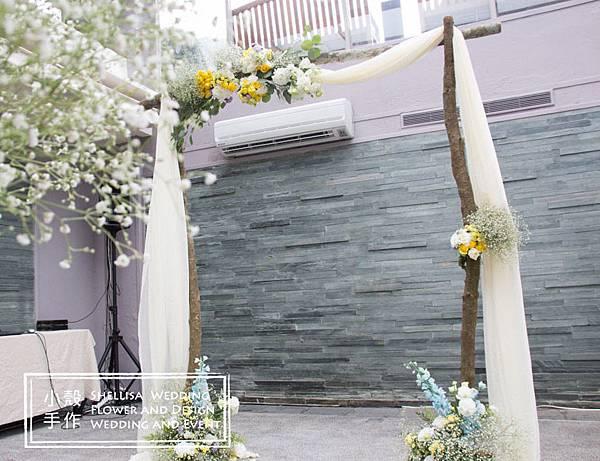 戶外婚禮佈置