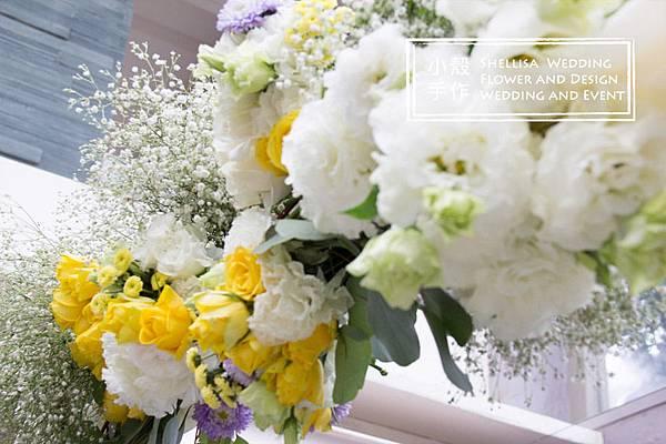 證婚花拱門