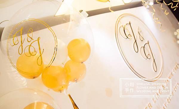 氣球婚禮佈置晶華酒店