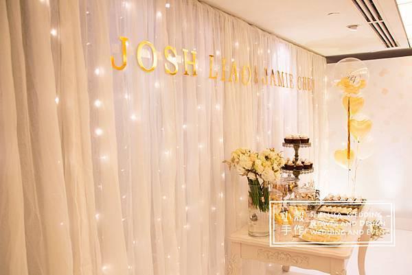 燈光婚禮佈置