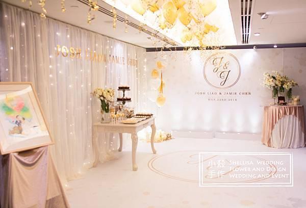 晶華酒店寰宇廳婚禮佈置