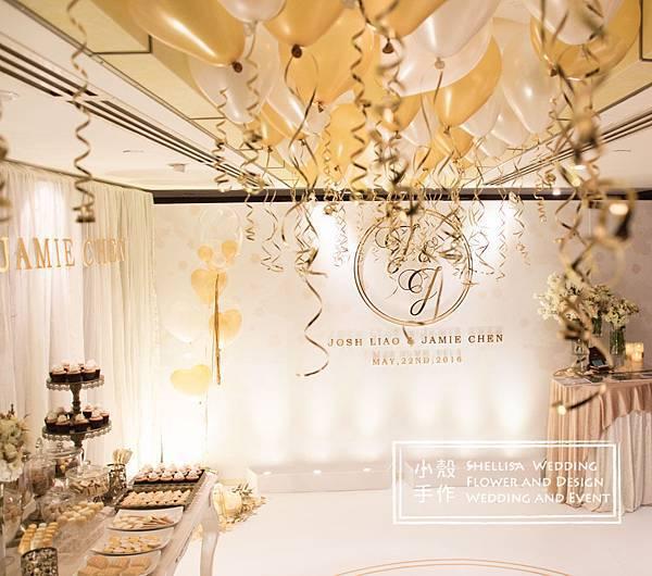 晶華酒店氣球婚禮