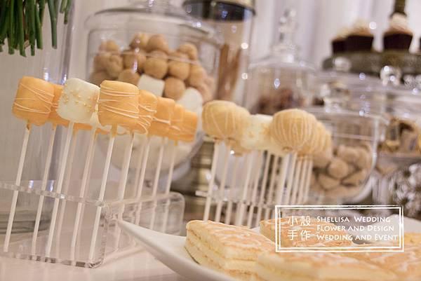 甜點桌婚禮佈置