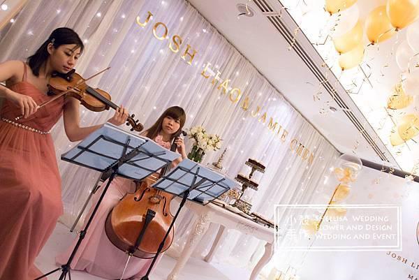 晶華酒店氣球婚禮佈置