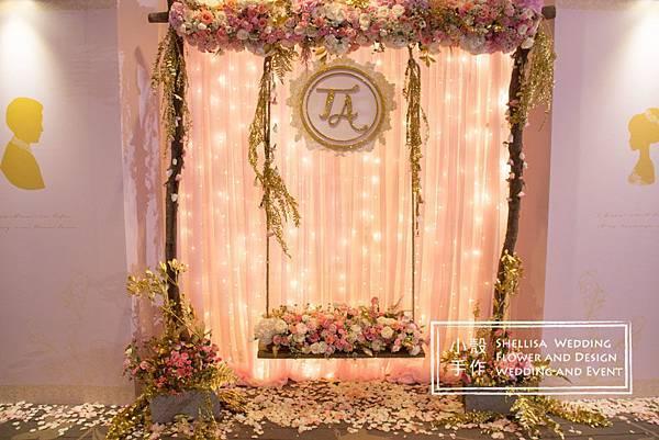 婚禮佈置 東方文華 花拱門