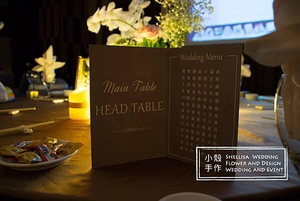 菜單桌卡設計