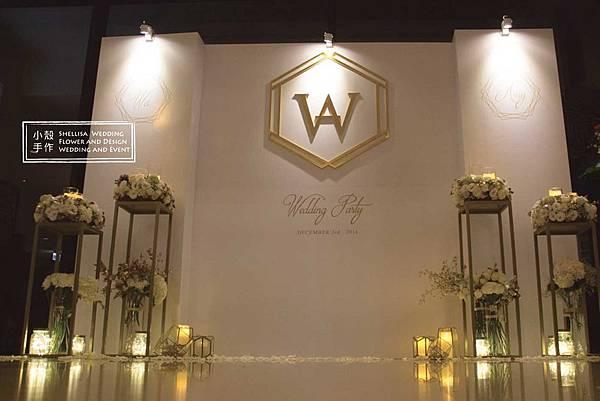 白金婚禮佈置