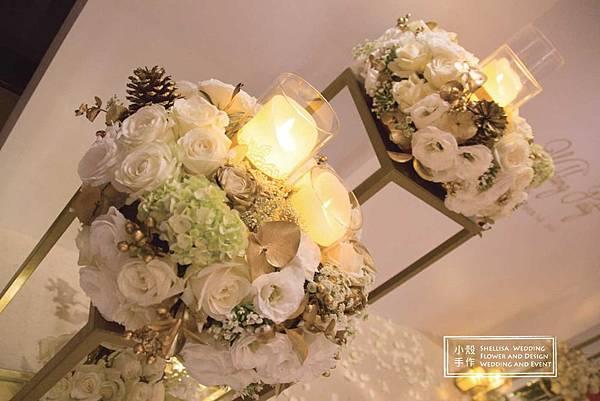 白金婚禮背板
