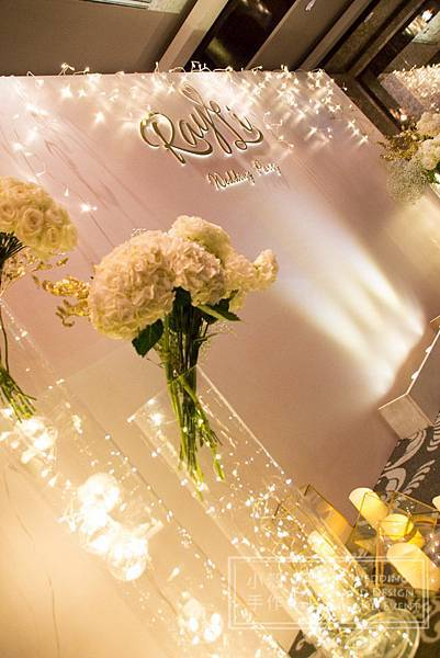 燈光 主題花藝 婚禮佈置 世貿三三