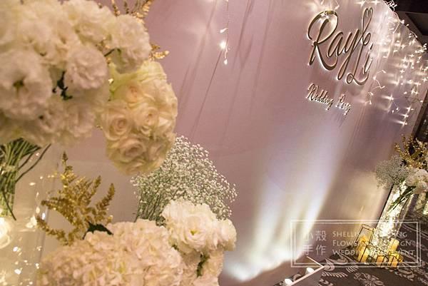 世貿三三婚禮佈置 星空佈置
