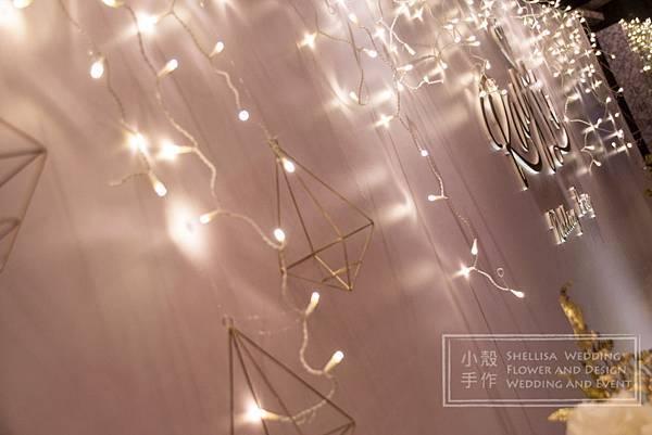 世貿三三婚禮佈置 燈光佈置