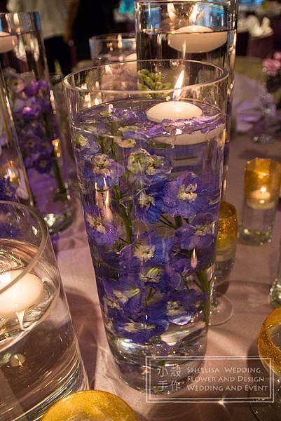 水中花 華國大飯店 主題婚禮佈置
