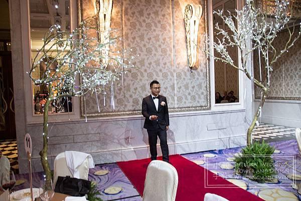 紅毯入口 文華東方 主題婚禮