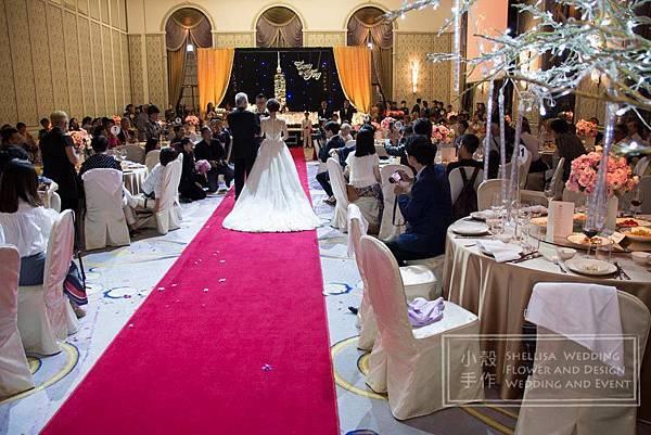 文華東方酒店婚禮佈置