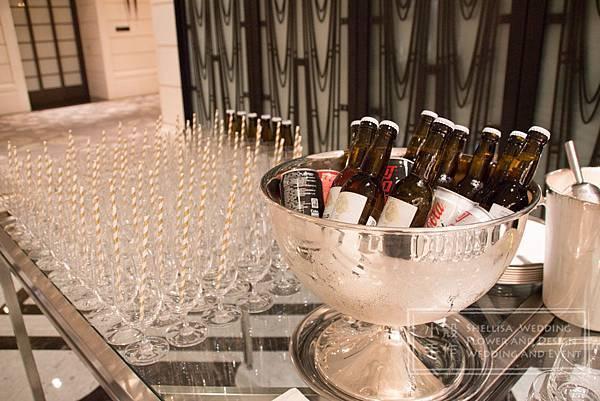 文華東方酒店 Drink Bar 佈置