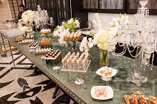文華東方酒店 甜點佈置