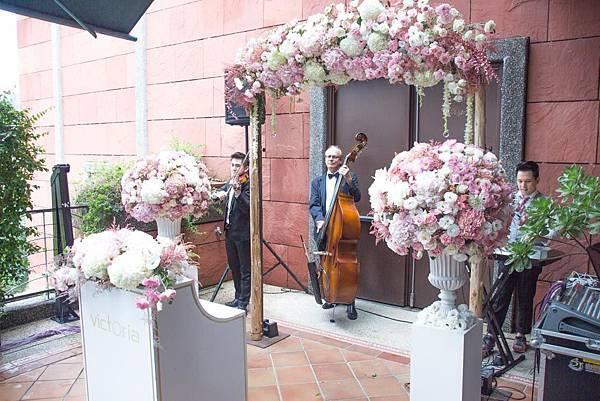 維多麗亞酒店花拱門佈置