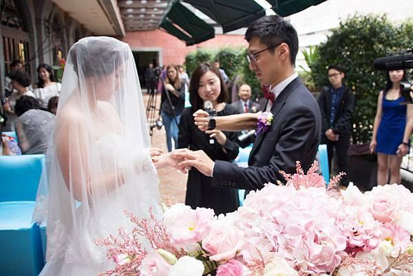維多麗亞酒店戶外婚禮佈置