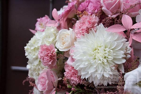 粉色花拱門 維多麗亞酒店