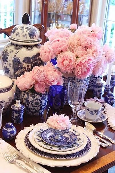 美福飯店青花瓷 婚禮佈置
