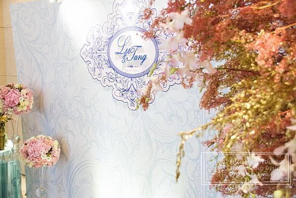 美福飯店 青花瓷 婚禮佈置