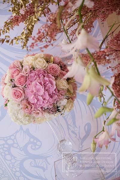 美福飯店青花瓷婚禮佈置