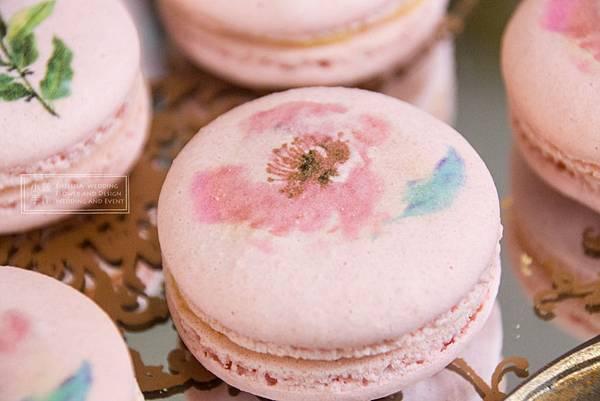 粉色馬卡龍婚禮