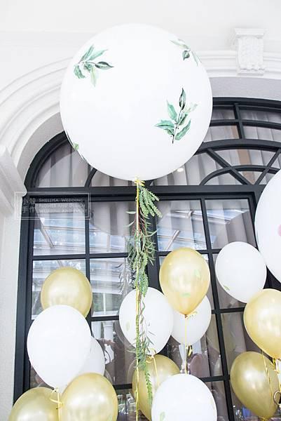 氣球證婚 翡麗詩莊園