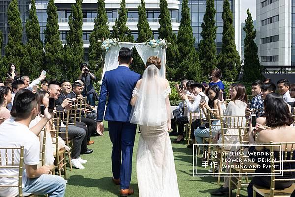 萬豪酒店美式婚禮佈置