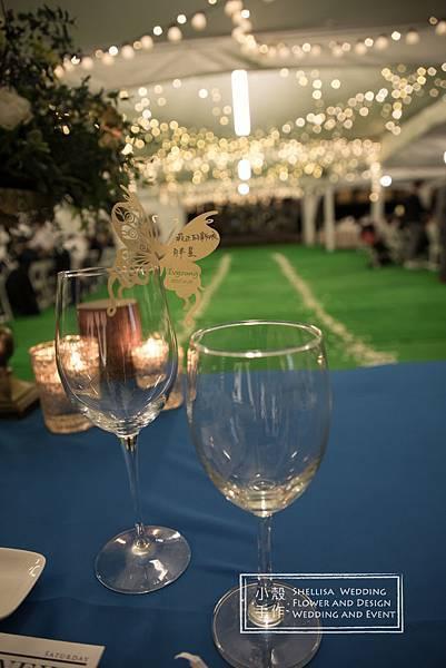 心之芳庭戶外婚禮布置 燈光婚禮