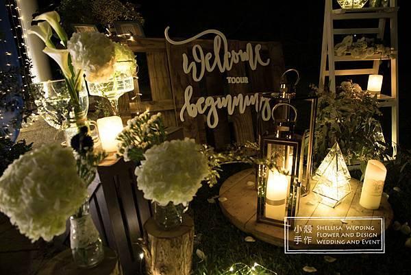 美式鄉村風婚禮佈置