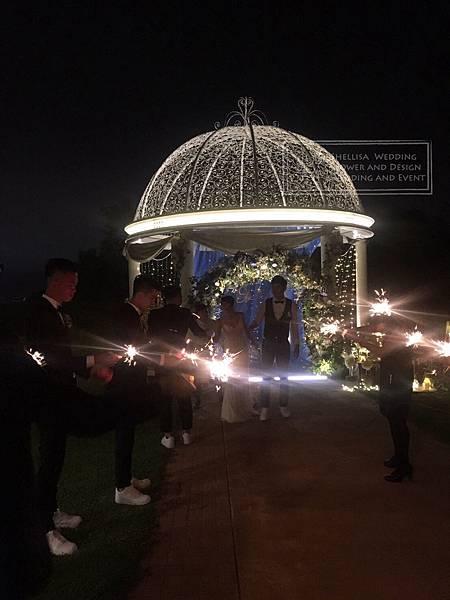 仙女棒婚禮