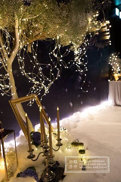 君品酒店 雪地婚禮