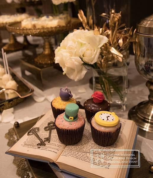 寒舍艾美酒店愛麗絲主題婚禮佈置