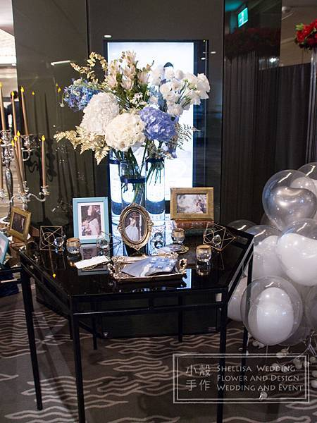晶華酒店婚禮佈置