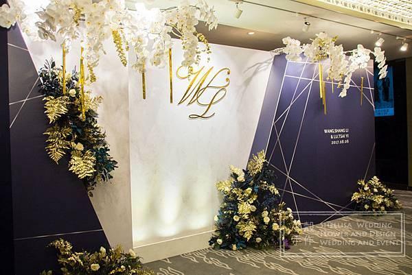 晶華酒店婚禮布置