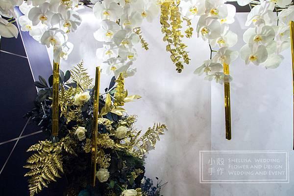 晶華酒店藍色 時尚婚禮