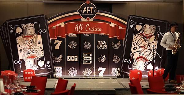 寒舍艾美酒店尾牙佈置 Casino