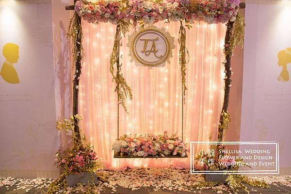 東方文華酒店花拱門婚禮佈置