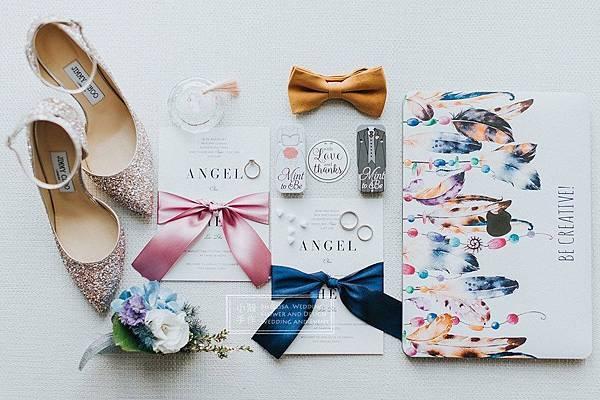 美式婚禮喜帖婚卡