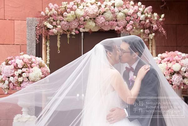 維多麗亞酒店戶外婚禮佈置推薦