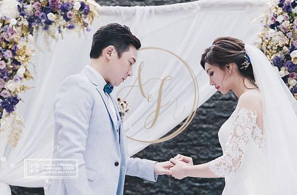 白金花園酒店戶外婚禮佈置推薦