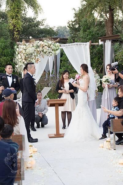 大溪威斯汀美式戶外婚禮佈置