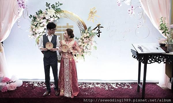 中國風婚禮佈置