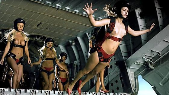 Fleggaard- Nude Skydive