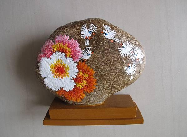 104.09.15-化石牡丹石畫正