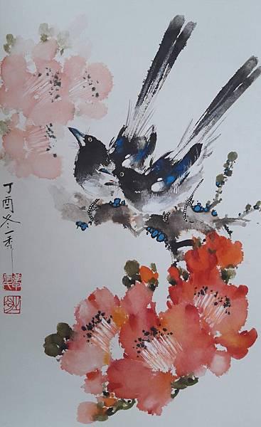 小中堂106.12.15-喜鵲木棉