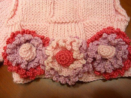 2007 花花圍巾 + 花花手套-2