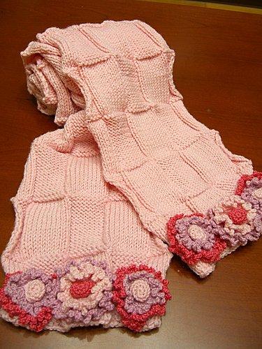 2007 花花圍巾 + 花花手套-3