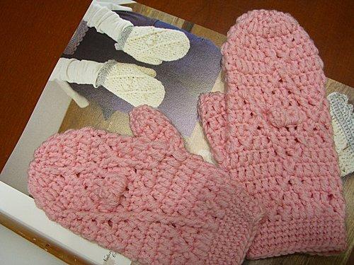2007 花花圍巾 + 花花手套-7